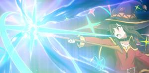 このファンの感想:めぐみんのアニメーション